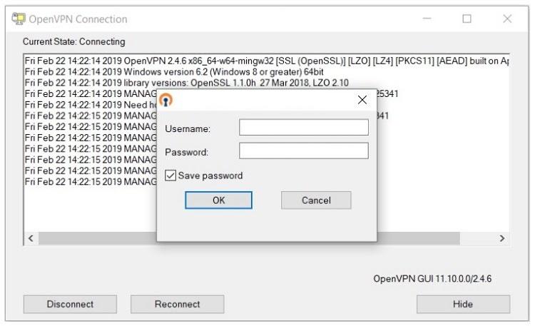 setting up VPN on Windows 10 using manual installation