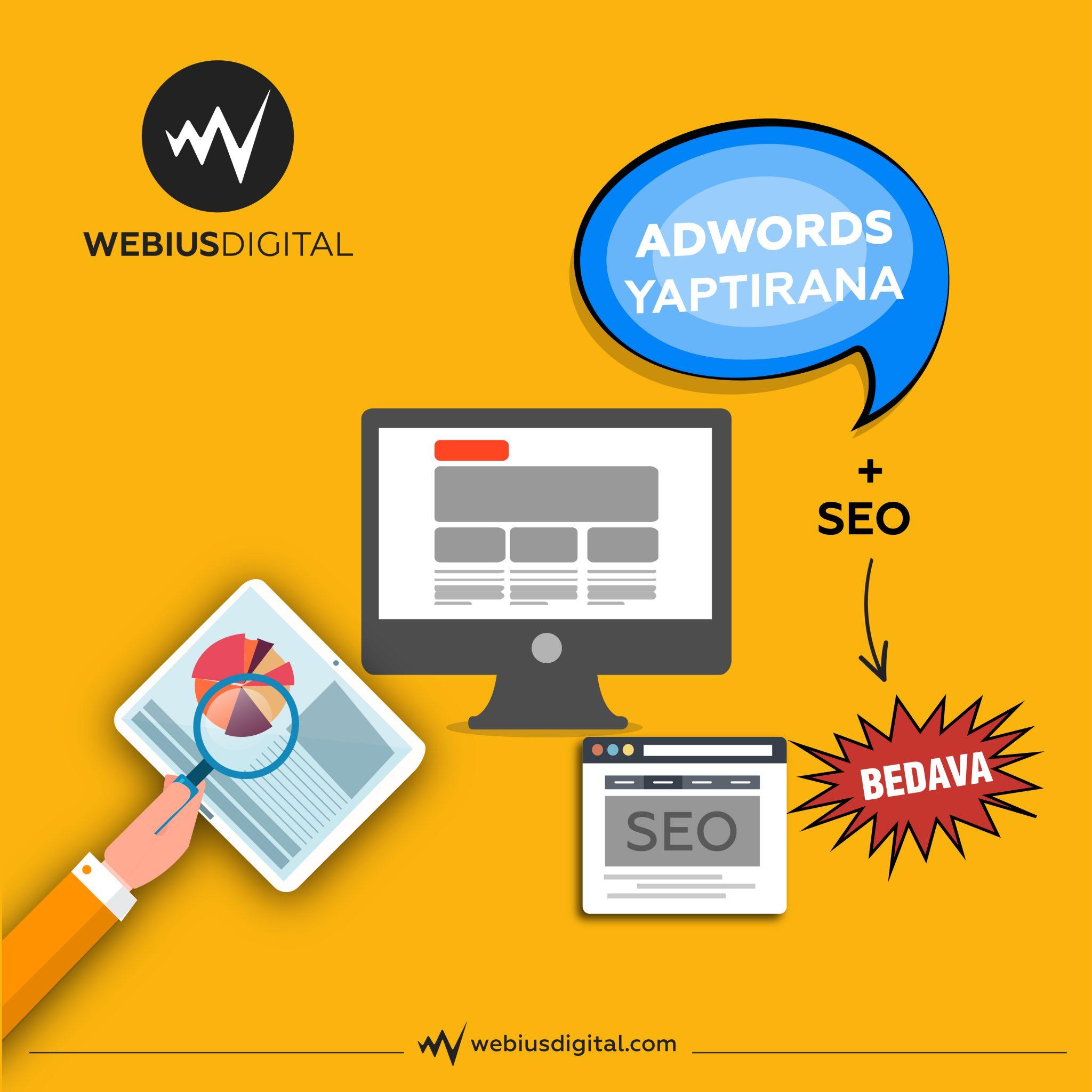 Google Adwords, SEO, Web Sitesi Tasarım Kampanyaları