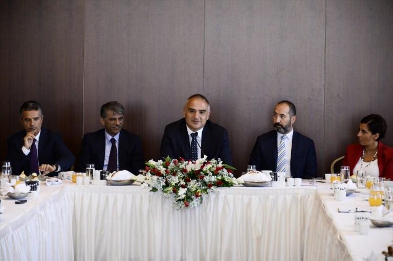 Kültür ve Turizm Bakanı Ersoy Turizmde Sosyal Medya Kullanılacak