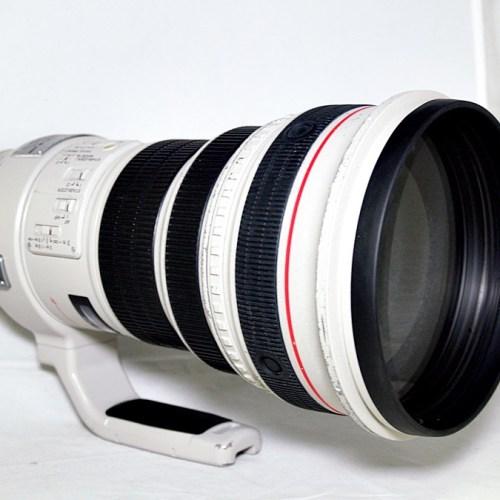 キャノンのカメラレンズ「EF400 F2.8L IS USM」買取実績