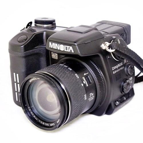 ミノルタのデジタル一眼レフカメラ「DiMAGE A1」買取実績