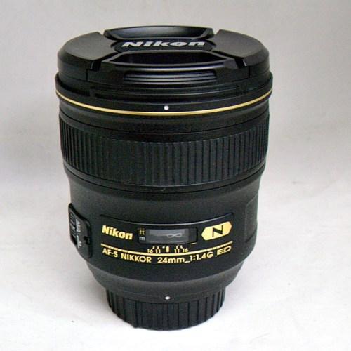 ニコンのカメラレンズ「AF-S NIKKOR 24mm f/1.4G ED」買取実績