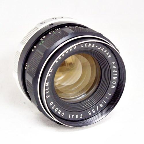 フジのカメラレンズ「FUJINON 55mm F1.8 」買取実績