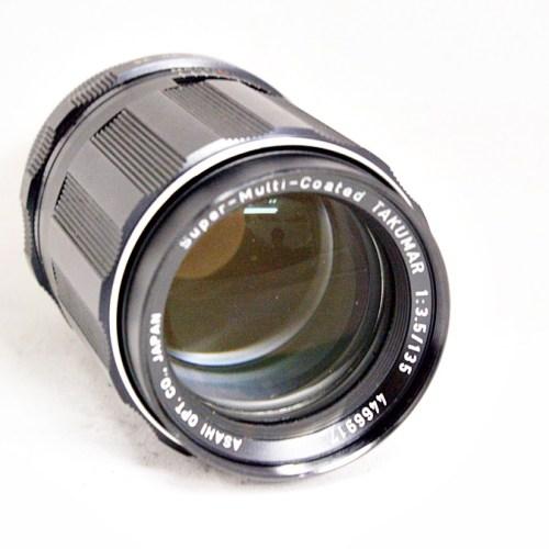 ペンタックスのカメラレンズ「smc TAKUMAR 135mm F3.5」買取実績