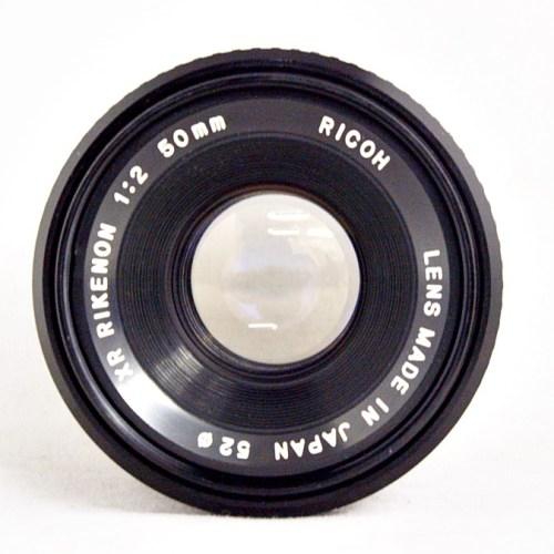 リコーのカメラレンズ「RIKENON  50mm F2」買取実績