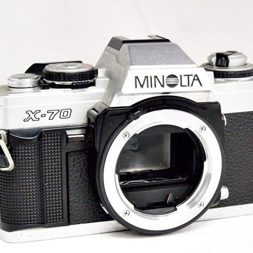 ミノルタのフィルム一眼カメラ「X-70」買取実績
