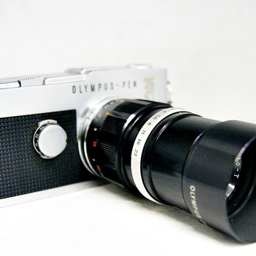 オリンパスのフィルム一眼カメラ「PEN F」買取実績