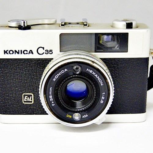 コニカのフィルムカメラ「C35」買取実績