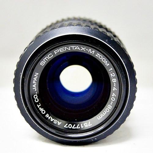 ペンタックスのカメラレンズ「SMC PENTAX-M ZOOM 40-80mm F2.8-4 」買取実績