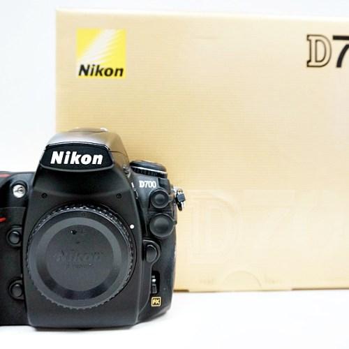 ニコンのデジタル一眼レフカメラ「D700」買取実績