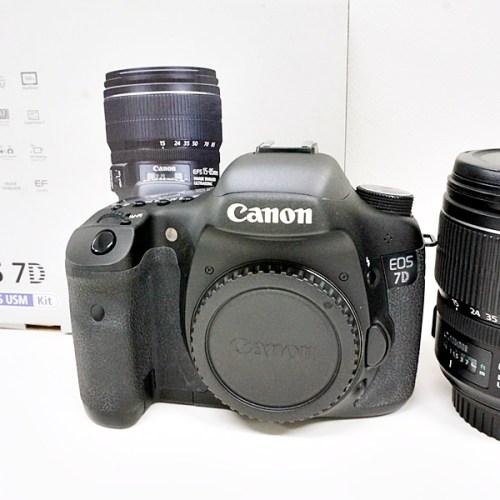 キャノンのデジタル一眼レフカメラ「EOS 7D EF-S15-85 IS USM KIT」買取実績