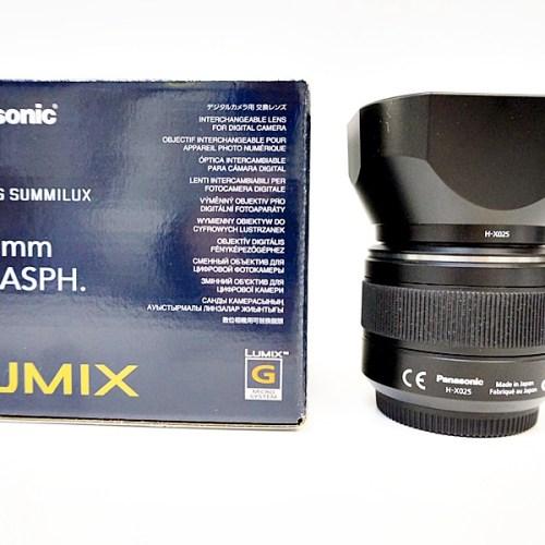 パナソニックのカメラレンズ「LEICA DG SUMMILUX 25mm F4」買取実績