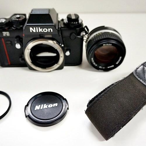 ニコンのフィルム一眼カメラ「F3」買取実績