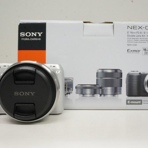 ソニーのミラーレスカメラ「NEX-C3」買取実績