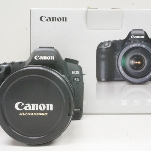 キャノンのデジタル一眼レフカメラ「EOS 5D MARKⅡ EF24-105LIS USM KIT」買取実績