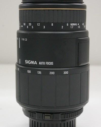 シグマのレンズ「70-300mm F-4-5.6D APO MACRO」買取実績