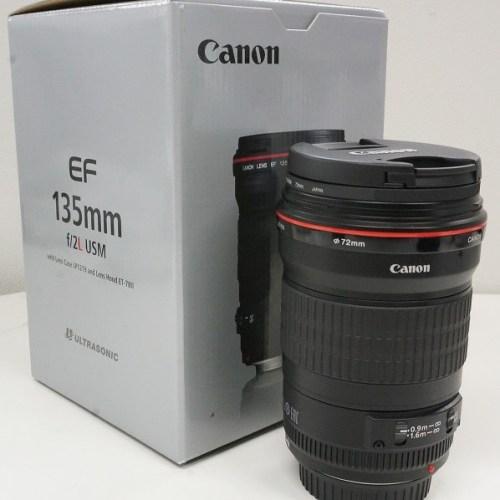 キャノンのレンズ「EF135mm F2L USM」買取実績