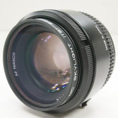 ニコンのレンズ「AF NIKKOR 50mm F1.4」買取実績