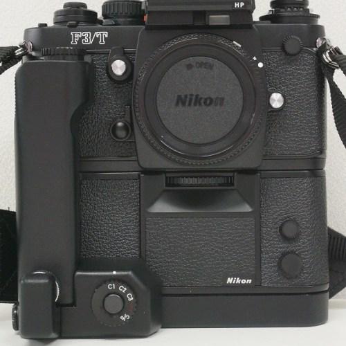 ニコンのフィルム一眼レフカメラ「F3/T HP モータードライブ MD-4 セット」買取実績