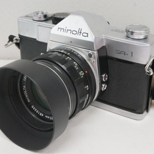 ミノルタのフィルム一眼レフカメラ「SR-1」買取実績