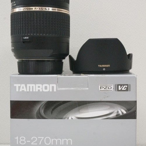 タムロンのレンズ「18-270mm F3.5-6.3 Di Ⅱ VC PZD ニコン用」買取実績