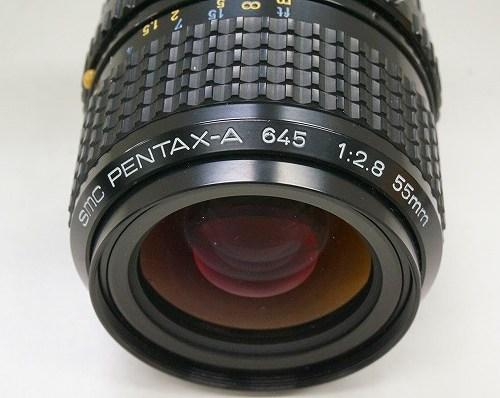 ペンタックスのレンズ「smc A 645 55mm F2.8 」買取実績