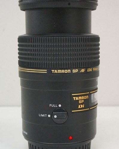 タムロンのレンズ「SP AF 90mm F2.8 MACRO 1:1 Di」買取実績