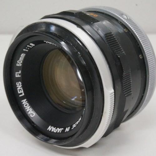 キャノンのレンズ「FL 50mm F1.8」買取実績