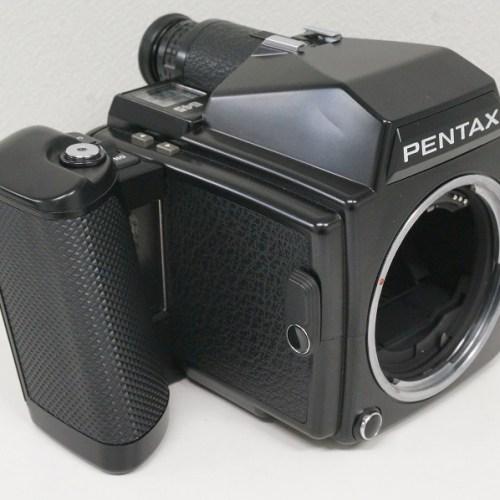 ペンタックスの中判カメラ「645」買取実績