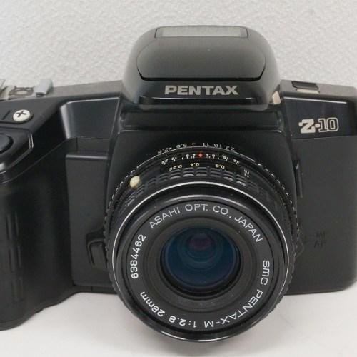 ペンタックスのフィルム一眼レフカメラ「Z-10 smc M 28mm F2.8 レンズ」買取実績