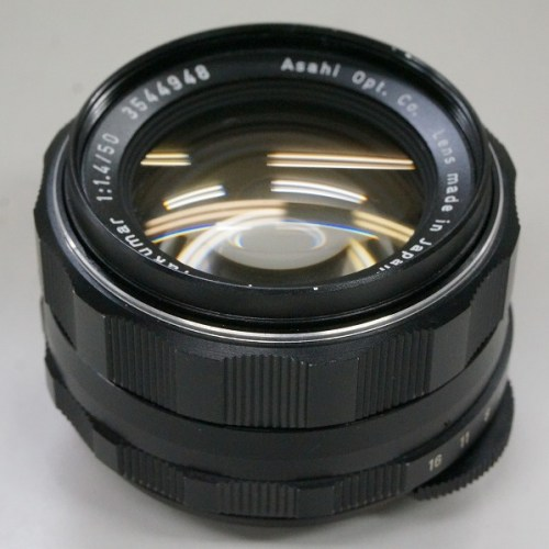 ペンタックスのレンズ「Super-Takumar 50mm F1.4 M42」買取実績