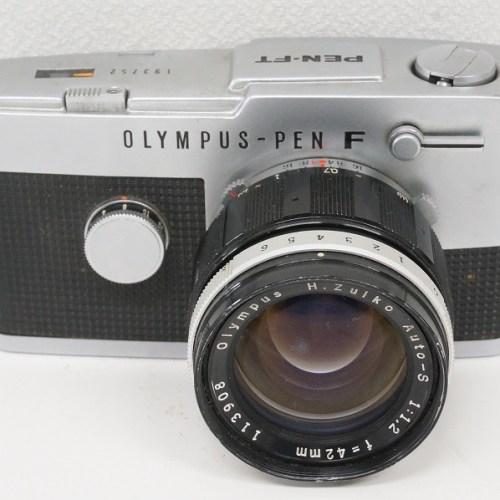 オリンパスのフィルム一眼レフカメラ「PEN-FT H.ZUIKO Auto-S 42mm F1.2」買取実績