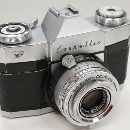 ツァイスイコンのフィルム一眼レフカメラ「Contaflex Tessar 50mm F2.8」買取実績