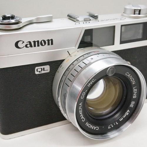 キャノンのレンジファインダー「Canonet QL17」買取実績