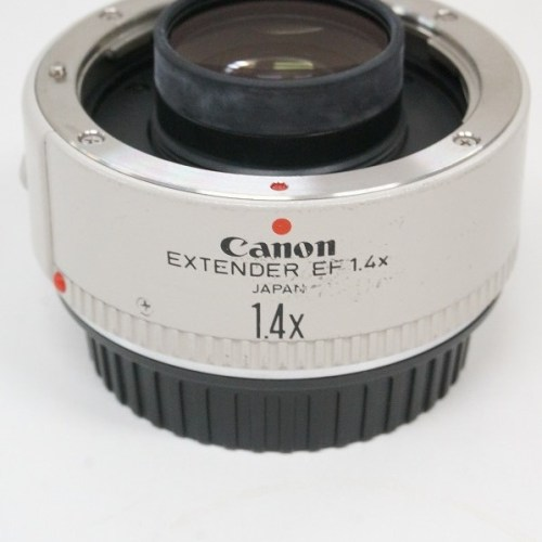 キャノンのレンズ「EXTENDER EF1.4×」買取実績