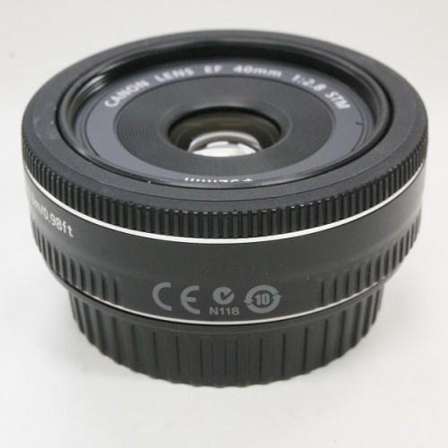 キャノンのレンズ「EF40mm F2.8 STM」買取実績