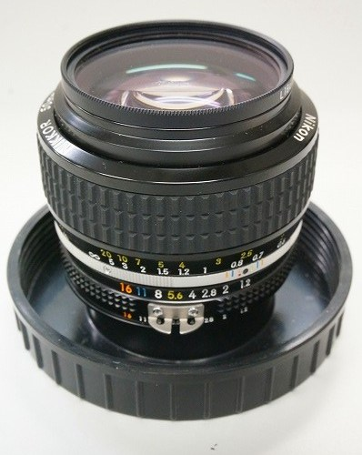 ニコンのレンズ「Ai-S NIKKOR 50mm F1.2」買取実績