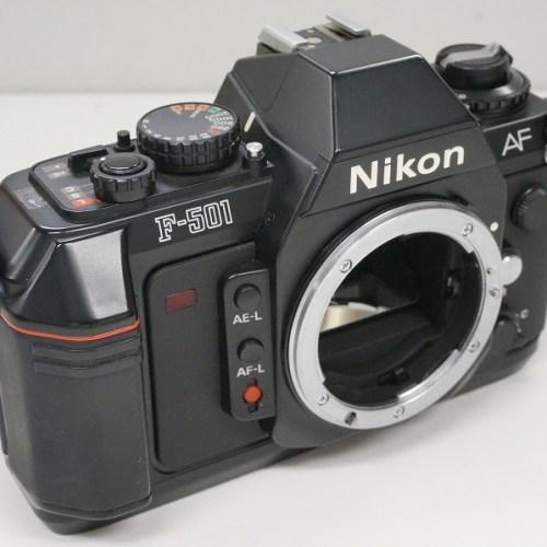 ニコンのフィルム一眼レフカメラ「F-501」買取実績