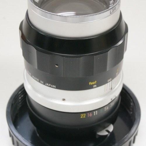 ニコンのレンズ「NIKKOR-Q Auto 135mm F3.5」買取実績