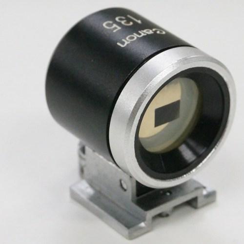 キャノンの「135mm ビューファインダー」買取実績