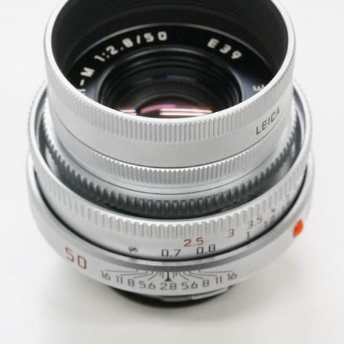 ライカのレンズ「ELMAR-M 50mm F2.8 E39」買取実績