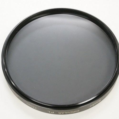 ケンコーの「サーキュラーPL 偏光フィルター 77mm」買取実績