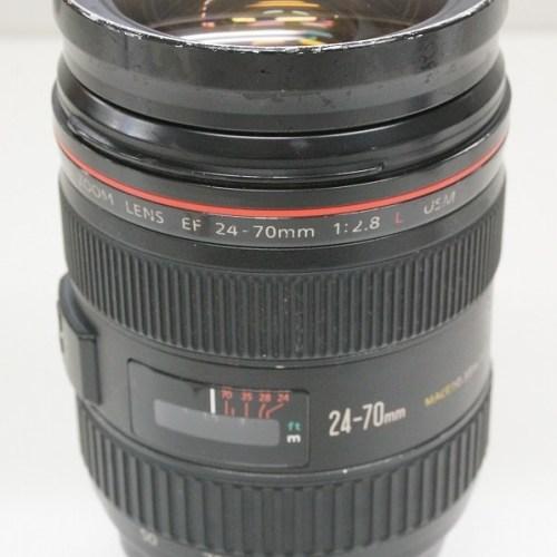 キャノンのレンズ「EF24-70mm F2.8L USM」買取実績
