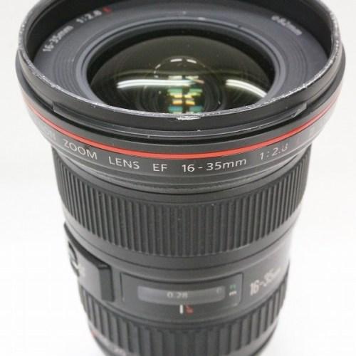 キャノンのレンズ「EF16-35mm F2.8L Ⅱ USM」買取実績