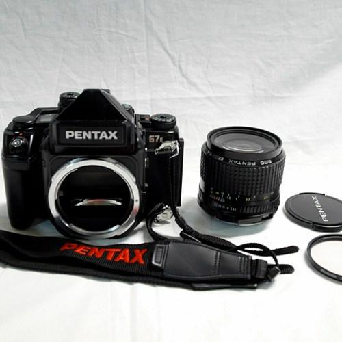 PENTAX 67Ⅱ+SMC55mm F1:4買取実績