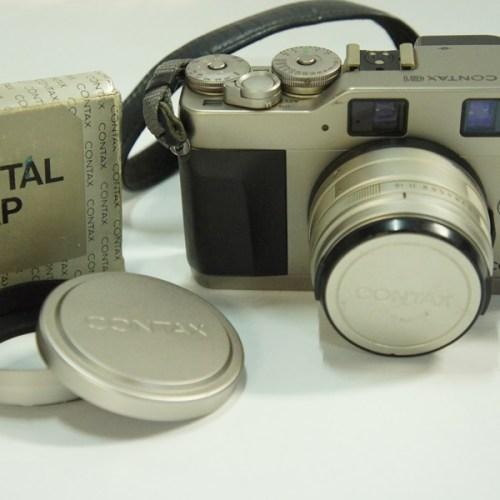 カメラ買取実績紹介「京セラ CONTAX G1 Planar 2/45 T* メタルフード・キャップ付き」