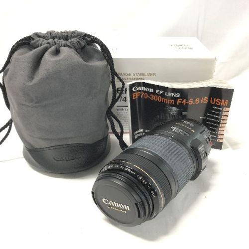 カメラ買取実績紹介「キャノン(CANON)  EF 70-300mm F4-5.6 IS USM」