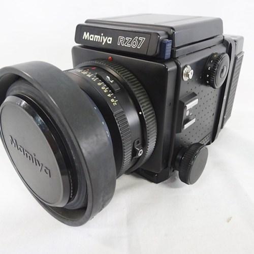 カメラ買取実績紹介「マミヤ(MAMIYA) RZ67Pro ボディ+ SEKOR 110mm F2.8 + 120フィルムバック」