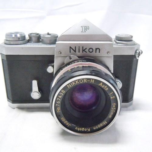 カメラ買取実績紹介「NIKON(ニコン)F アイレベル 689万台 NIKKOR-H Auto 50mm 1:2」