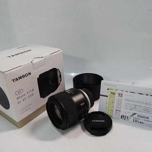 カメラ買取実績紹介「タムロン(TAMRON) SP 85mm F/1.8 Di VC USD NIKON用」